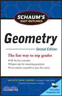 Schaum's Easy Outline of Geometry, Second Edition