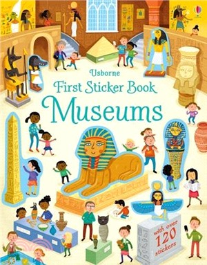 First Sticker Book Museums (貼紙書)