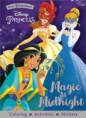 Disney Princess Magic at Midnight ― Coloring, Activities, Stickers