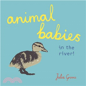 Animal Babies in the River!(硬頁書)